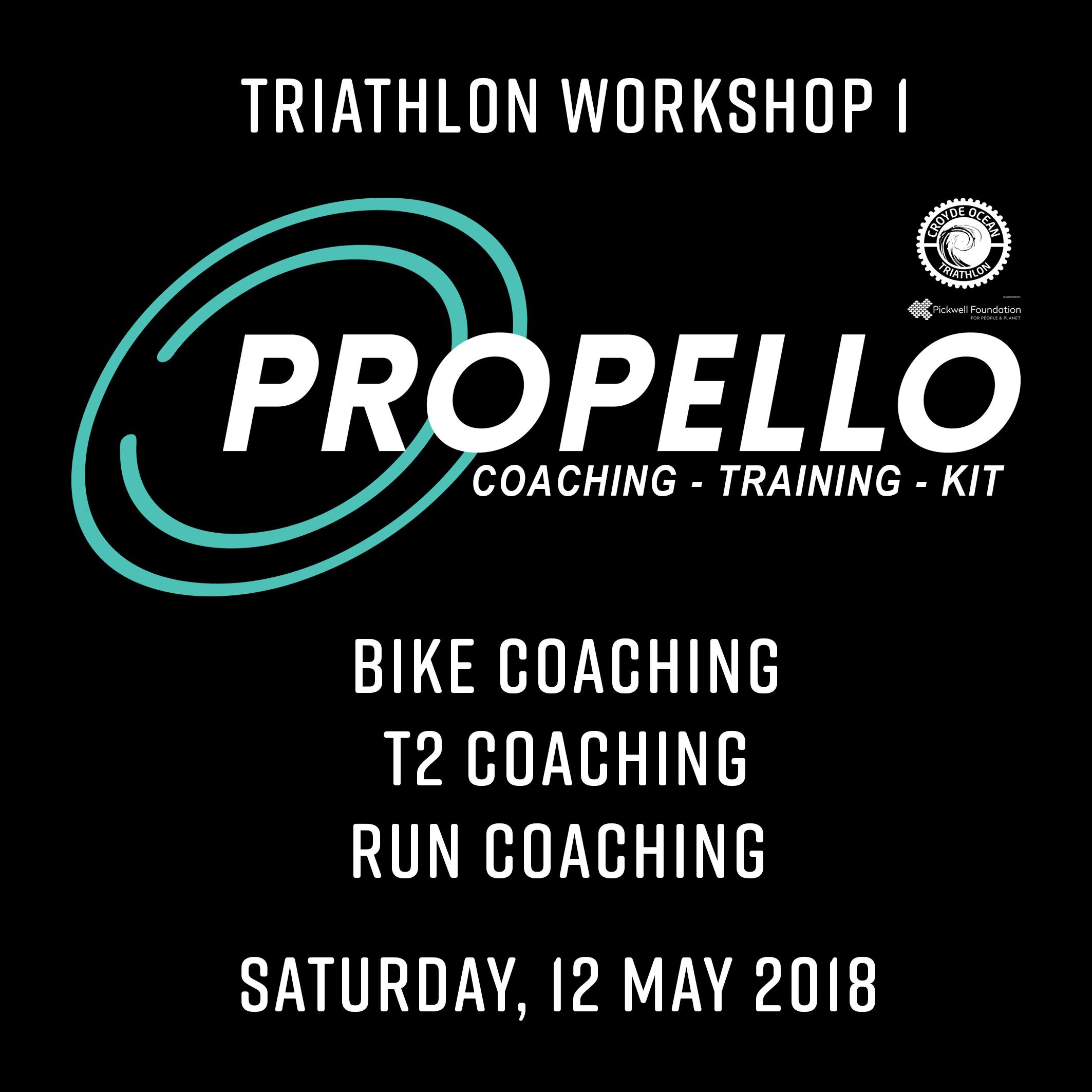 Tri Workshop 1 (12.05.2018): Bike – T2 – run coaching