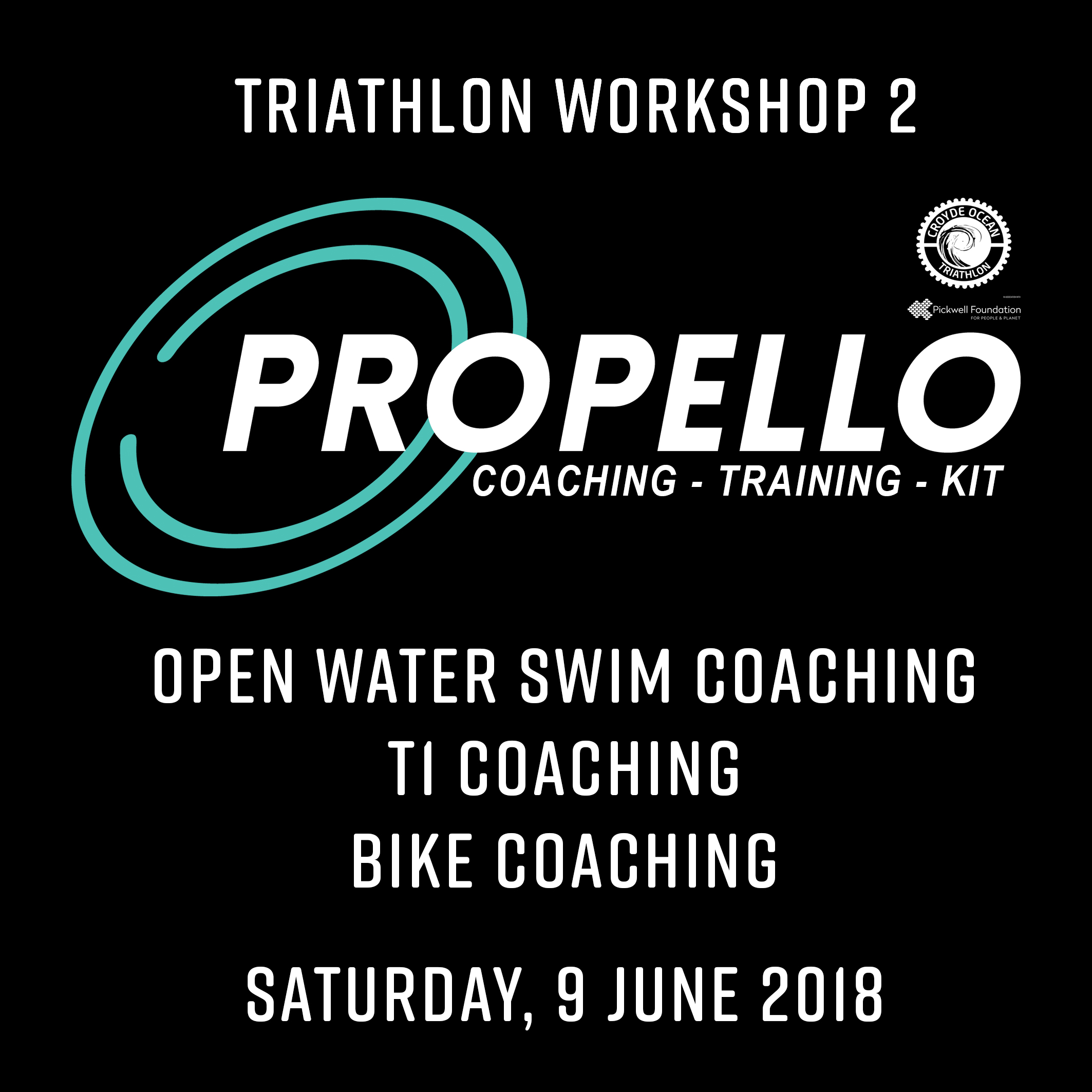 Tri Workshop 2 (09.06.2018): Open water swim – T1 – bike coaching