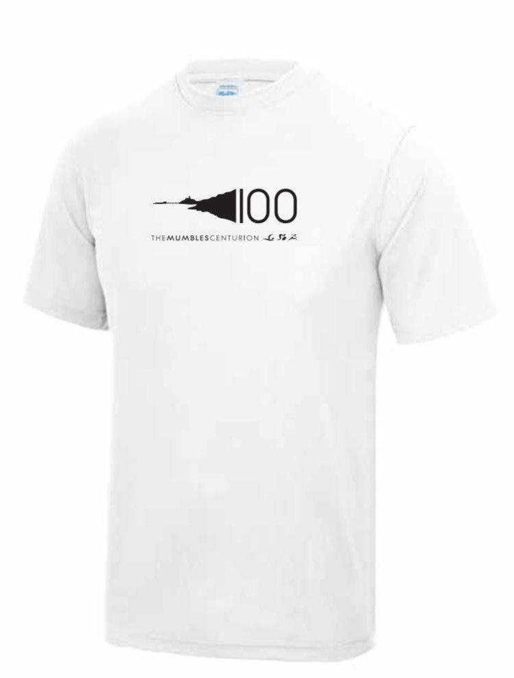 Mumbles Centurion Technical Training T-Shirt - White