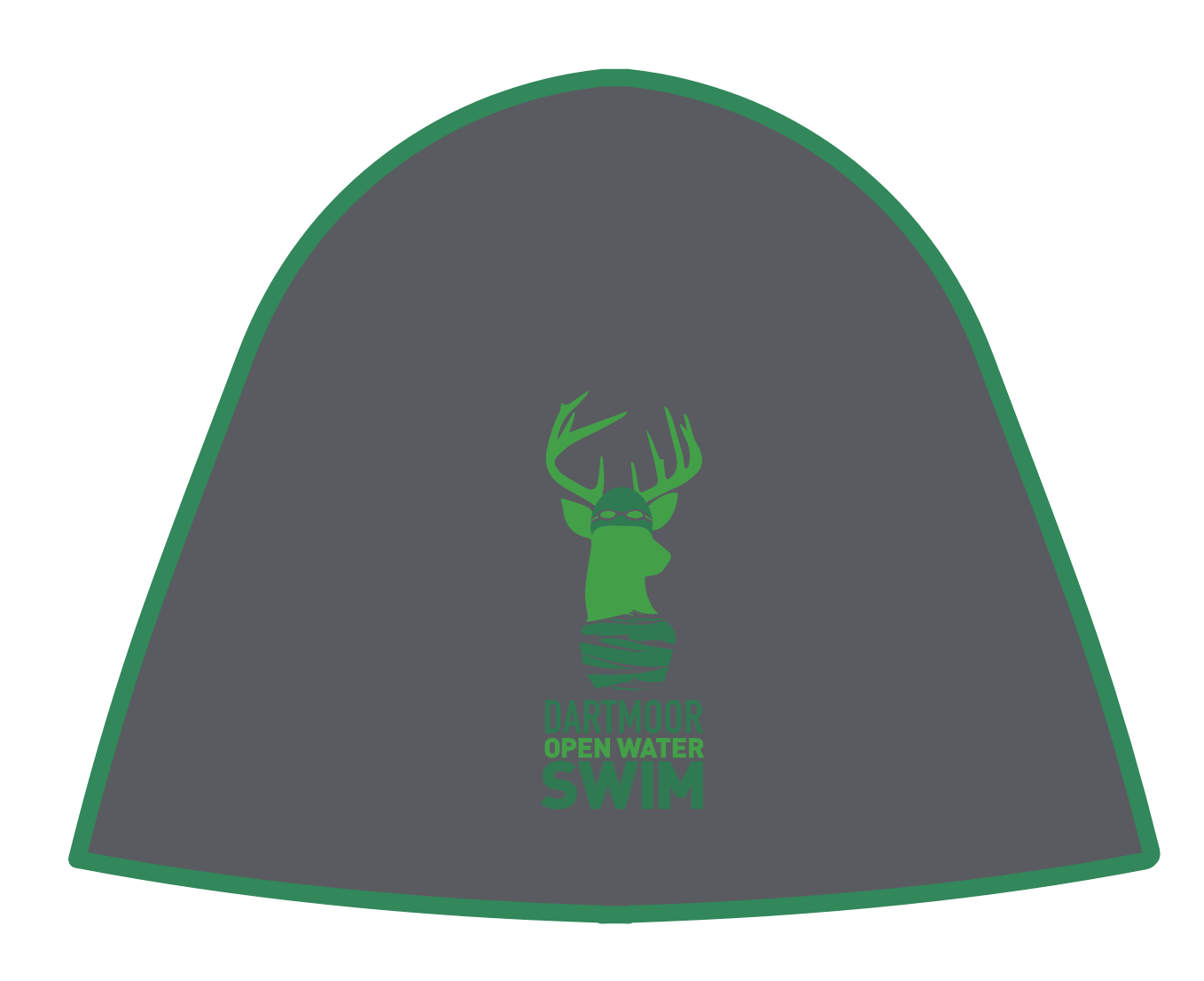 Dartmoor Open Water Swim Logo Beanie