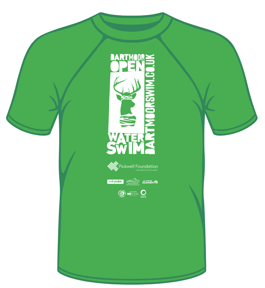 Technical T-Shirt - Dartmoor Open Water Swim