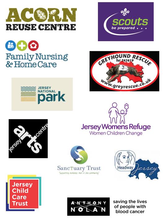 11 Jersey Charities