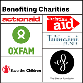 6 international charities