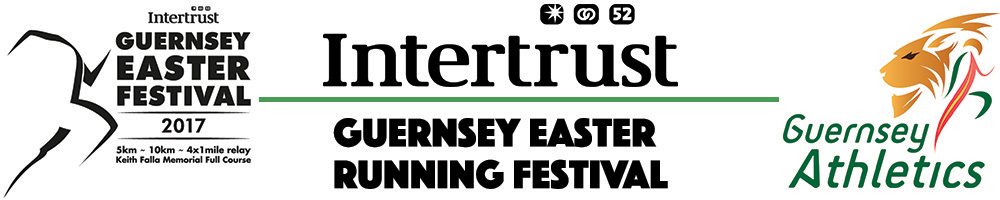 Guernsey Easter Running Festival - 3x Affiliated Entry