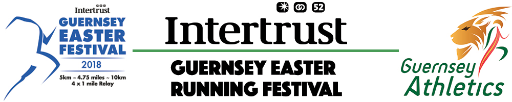 Guernsey Easter Running Festival 2018 - 3x Affiliated Entry
