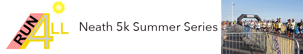 Run4All Neath 5k Summer Series - Unaffiliated Entry (all 3 races) - 7pm start