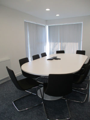 Moving In Meeting Room