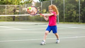 Kid Playing Tennis Carousel