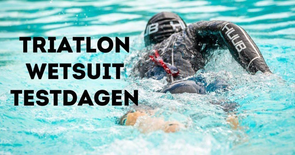 Triatlon Wetsuit Testdagen Huub Running Center Tricenter 3Athlonbe