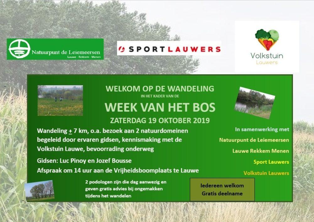Flyer Week Van Het Bos 19 10 2019