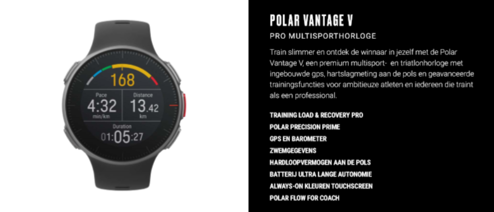 Polar Vantage Frederik Van Lierde Sport Lauwers Loopevent Advice That Fits You1