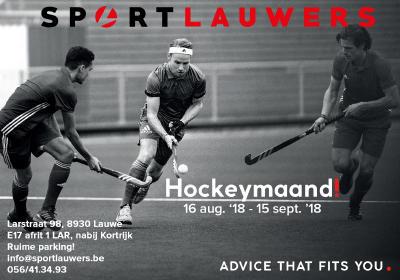 Hockeymaand // Bonnenboekje