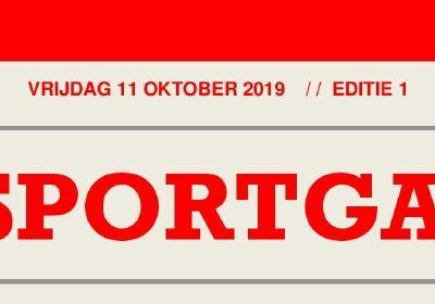 De Sportgazet: Editie 1