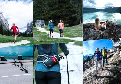 Leki nordic walking, trekking- & wandelstokken