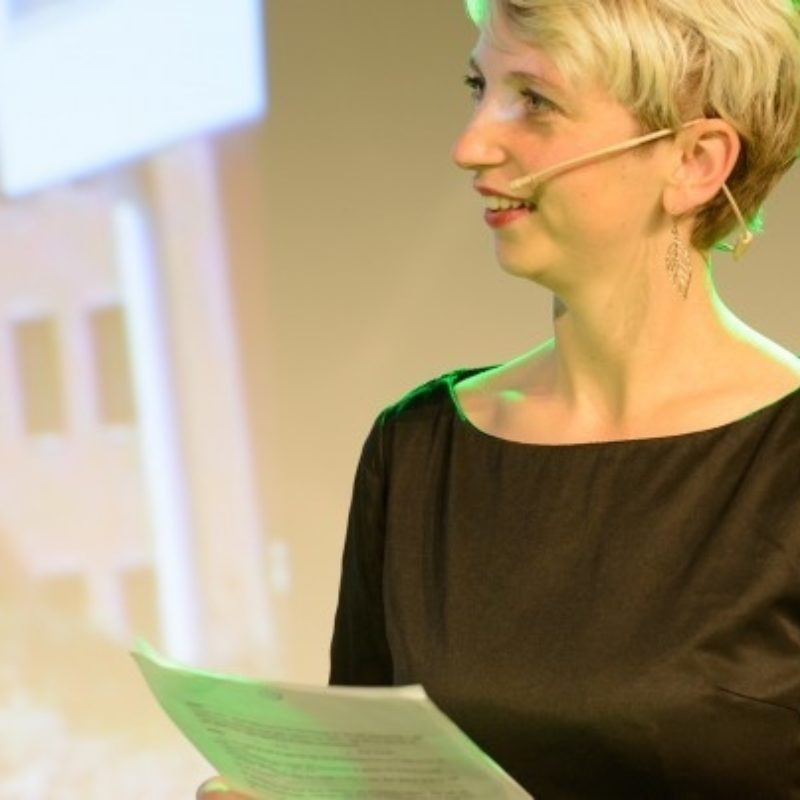 Marijke Roskam spreker bij Sprekershuys