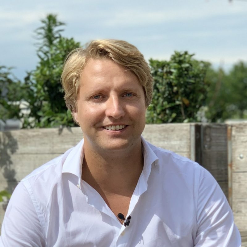Ruben van Zwieten  dagvoorzitter, spreker boeken bij het Sprekershuys