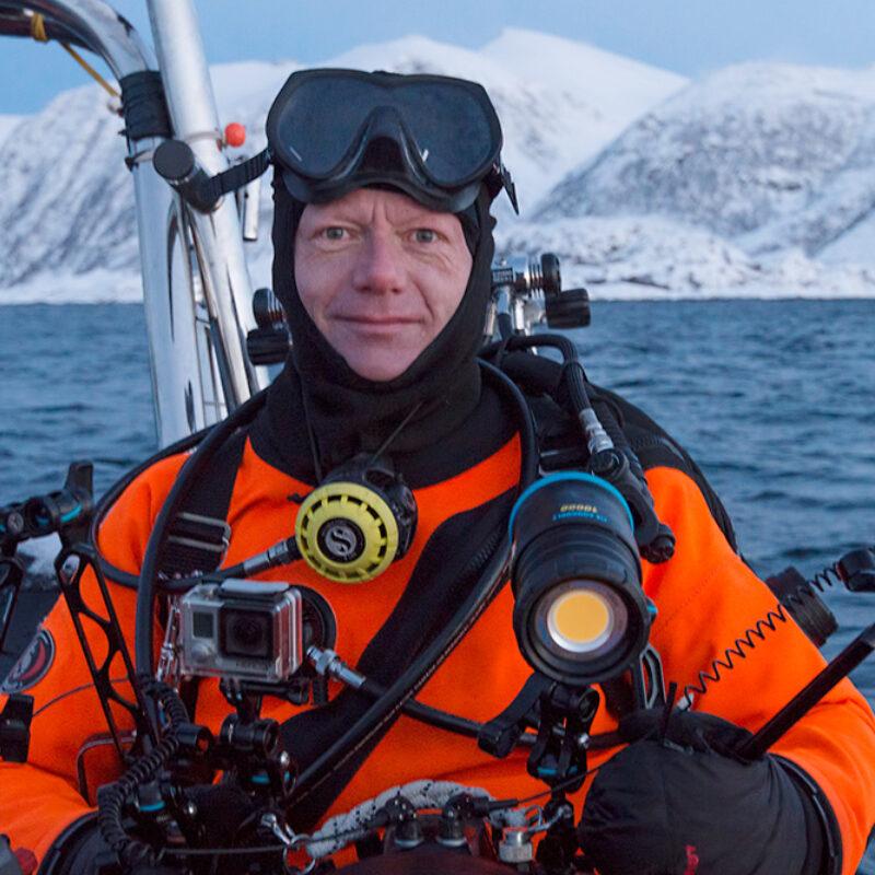 Melvin Redeker portret duikpak