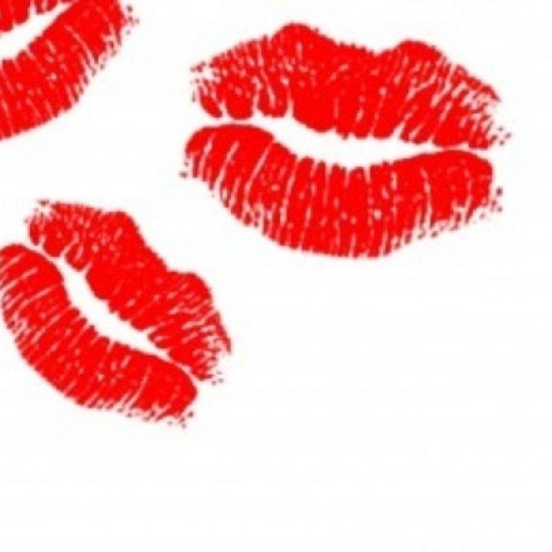 Flirten tot zoenen