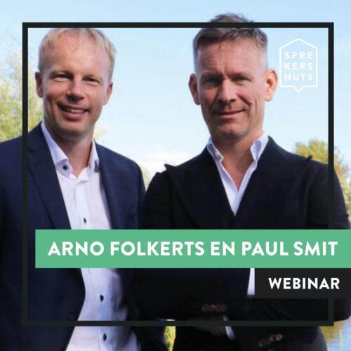 Arno Folkerts en Paul Smit webinar Sprekershuys