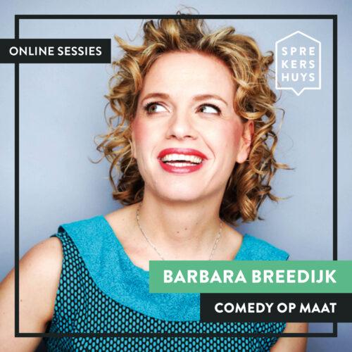 Barbara Breedijk webinar Sprekershuys
