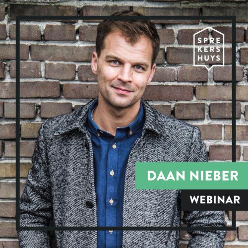 Daan Nieber online webinar Sprekershuys