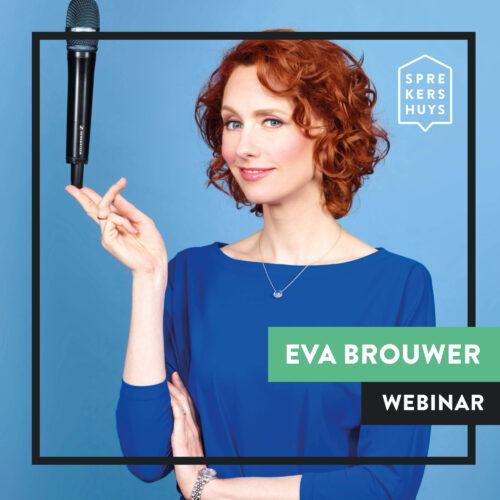 Eva Brouwer online webinar Sprekershuys