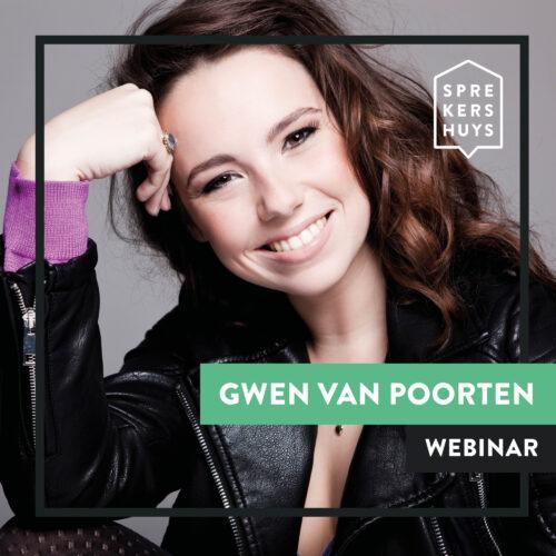 Gwen van Poorten online webinar Sprekershuys