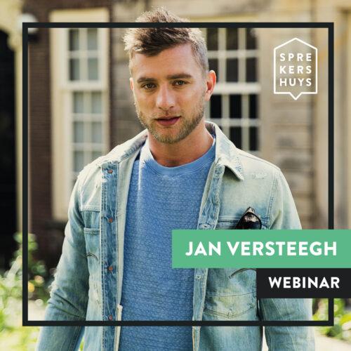 Jan Versteegh online webinar Sprekershuys