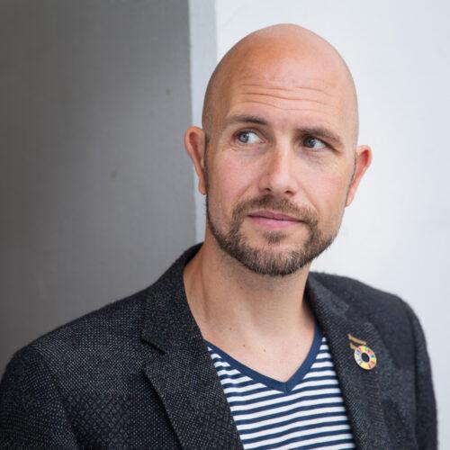 Lars Sorensen inhuren als spreker en dagvoorzitter bij het Sprekershuys