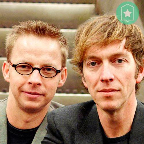 Mier, Michiel en Erik, spreker cabaretiers inhuren bij  Sprekershuys
