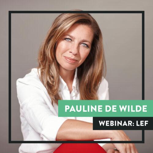Pauline de Wilde webinar Sprekershuys