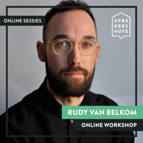 Rudy van Bekom webinar online sessie Sprekershuys