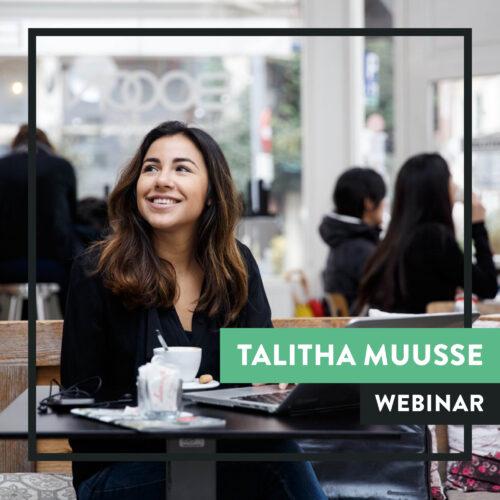 Talitha Muusse webinar Sprekershuys