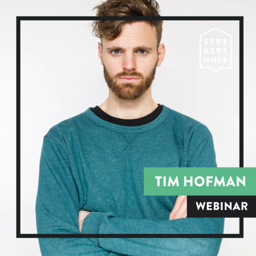 Tim Hofman online webinar Sprekershuys