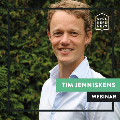 Tim Jenniskens webinar Sprekershuys