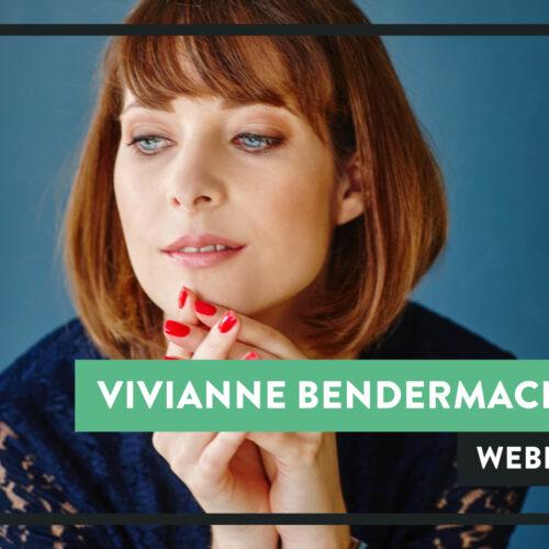 Vivianne Bendermacher Webinar Sprekershuys