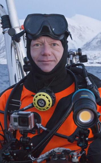 2019 avonturier spreker melvin redeker in duikuitrusting