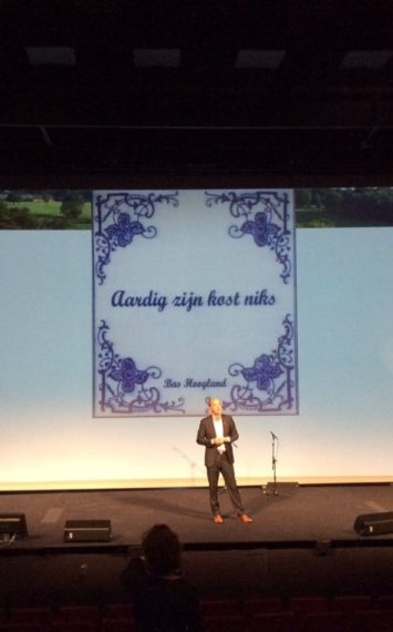 Bas Hoogland boeken als spreker bij het Sprekershuys