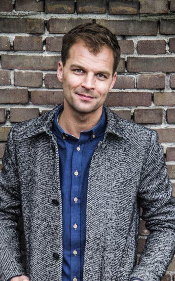 Daan Nieber boeken als dagvoorzitter bij het Sprekershuys