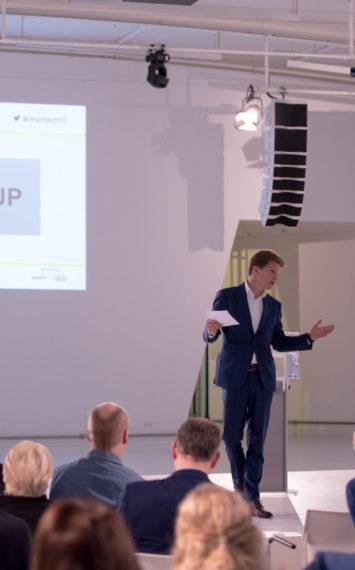 Krijn Schuurman dagvoorzitter, spreker bij sprekershuys
