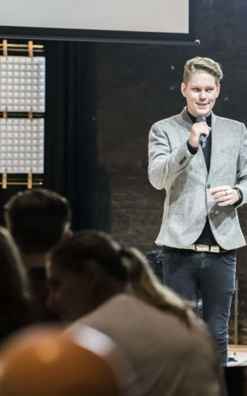 Marco van Beers inhuren als spreker bij het Sprekershuys