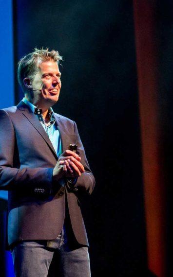 Mark Verhees spreker boeken bij het Sprekershuys