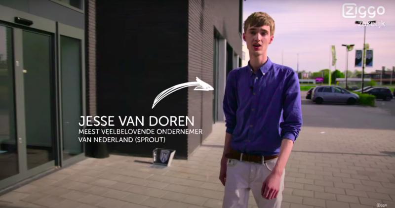 Jesse van Doren inhuren als spreker en dagvoorzitter bij het Sprekershuys 09 18