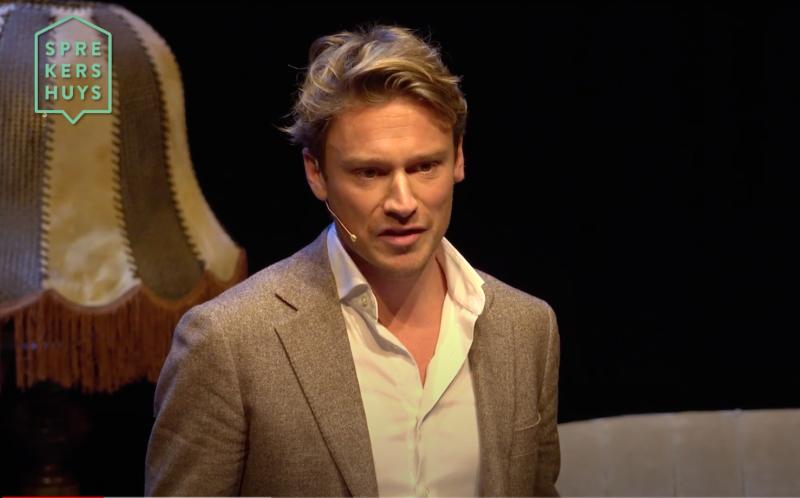 Sander Schimmelpenninck boeken als dagvoorzitter bij het Sprekershuy