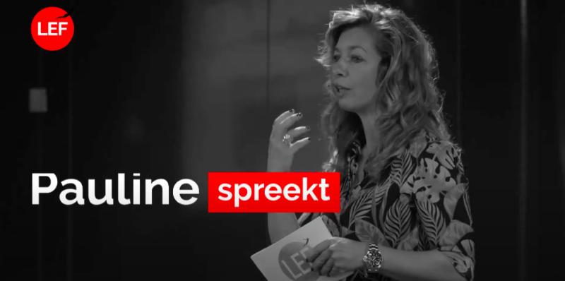 Spreker Pauline de Wilde