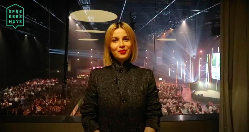 Victoria Koblenko inhuren als spreker en dagvoorzitter bij het Sprekershuys