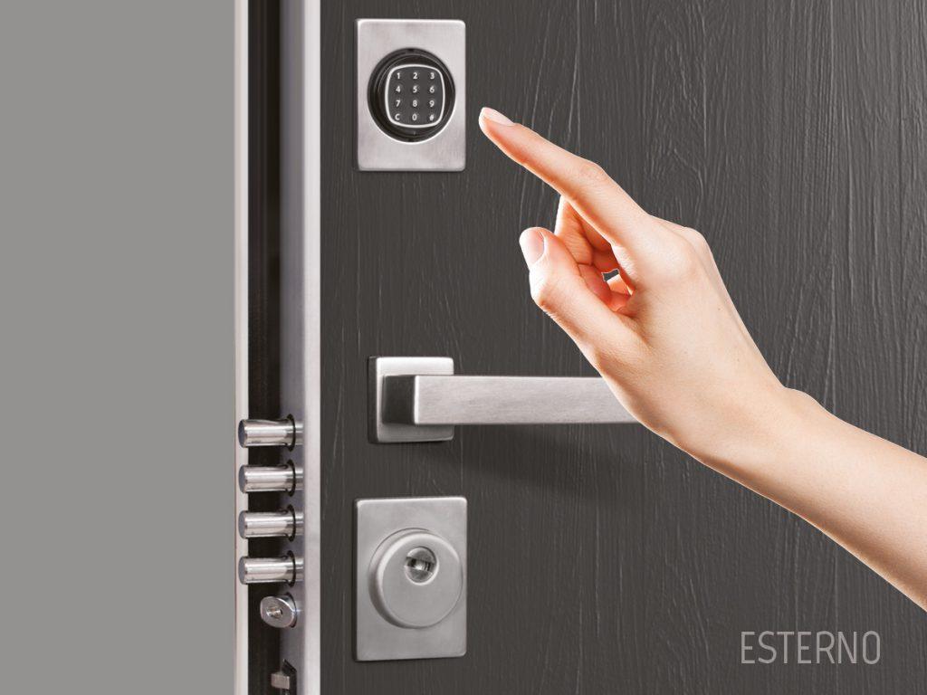 serratura elettronica porta blindata stark sicurezza
