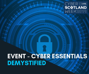 Cyber Scot Week - Cyber Essentials Event