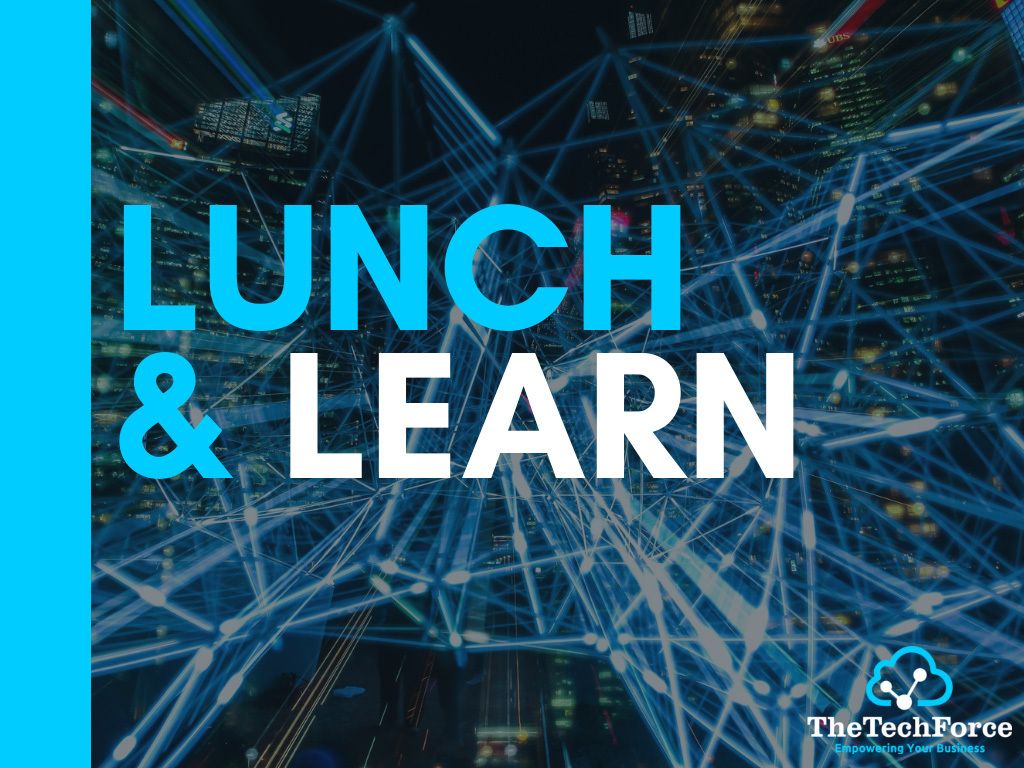 Lunch Learn Slides