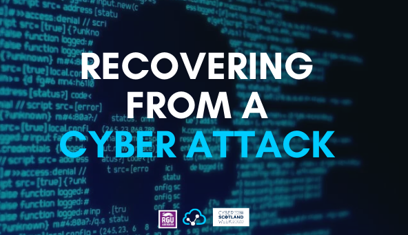 Recovering From A Cyber Attack 1